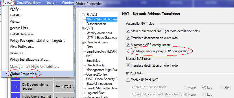 Static PAT and Proxy ARP in Check Point R75 – Networkology!