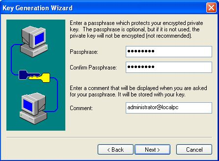 Encrypt Private Key