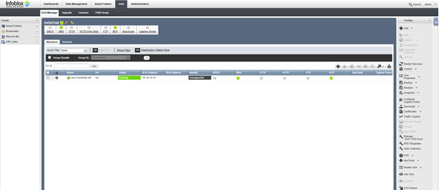 How to setup and configure Infoblox vNIOS in EVE-NG